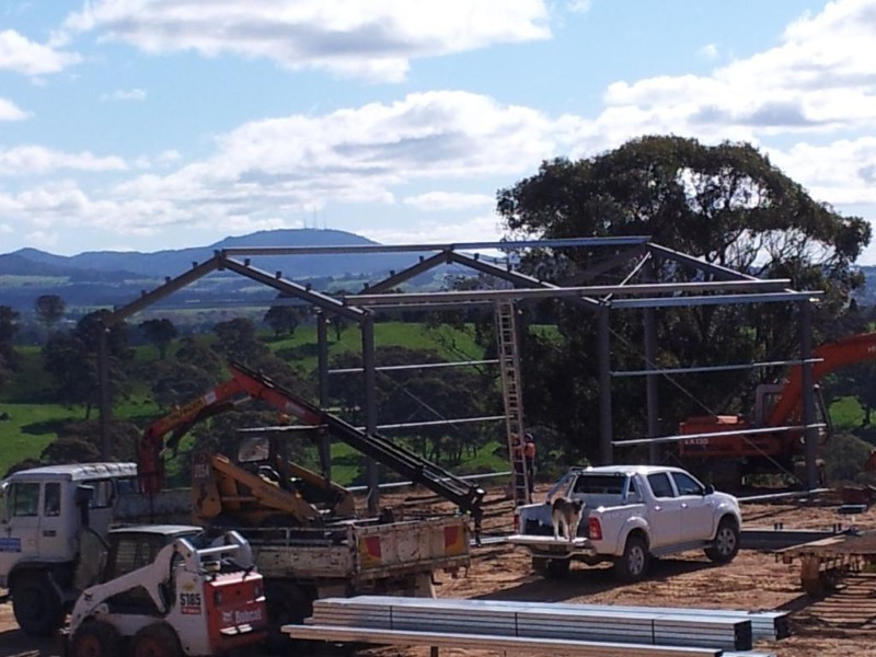 Erection of Shed