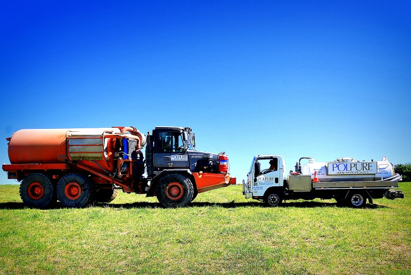Water Trucks Manufactured for Polpure
