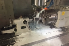 CNC Machining Orange