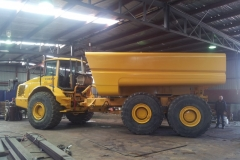 Manufacturing Volvo Water Cart