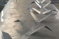 Profile Cut Birds folded