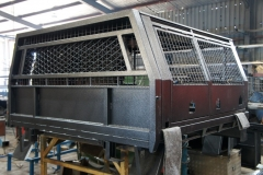 Welded canopy